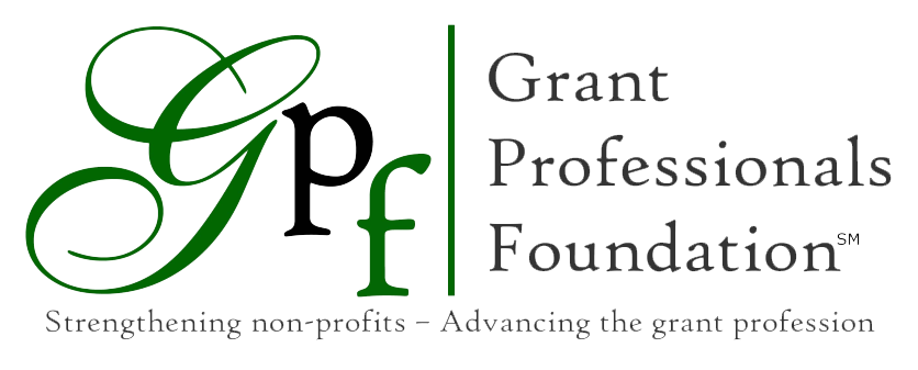 Grant Professionals Foundation – Strengthening Nonprofits